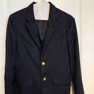 Polo by Ralph Lauren Boys Size 18 Blue Wool Blazer
